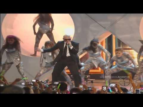 Pitbull - Back In Time @ Premios Juventud 2012