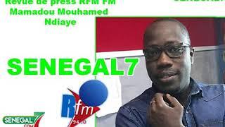 Revue de presse RFM du vendredi 30 août 2019 par Mamadou Mouhameth Ndiaye