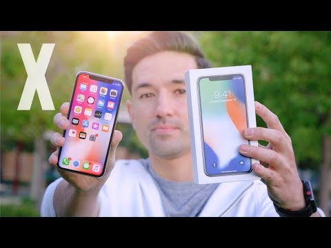 NEW Apple iPhone X Unboxing!