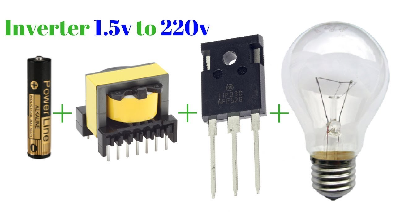 How To Make Inverter 15v 220v Simple Circuit New Technology An Exhibition