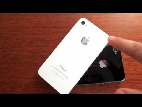iPhone 4S: Black VS. White - YouTube