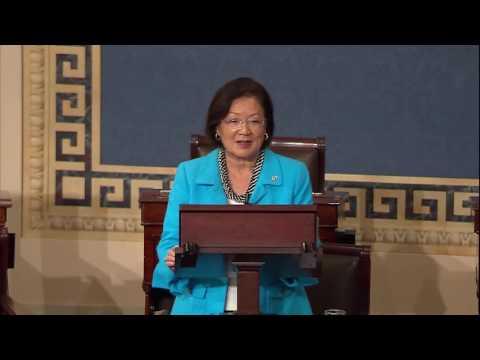 Senator Hirono Pays Tribute to Congressman Mark Takai