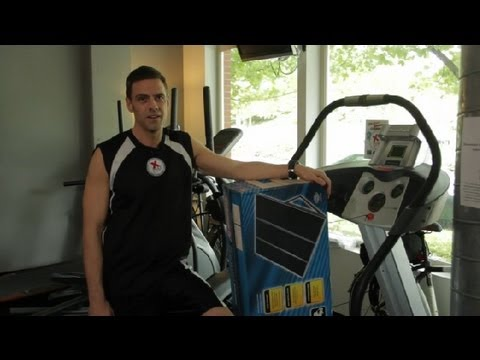 How to Run a Treadmill on Solar Power : Around the Gym