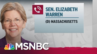 Elizabeth Warren To Maddow: 'I'm Not Allowed To Talk' About Jeff Sessions | Rachel Maddow | MSNBC Free HD Video