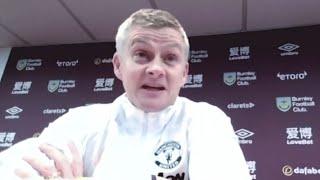 Реакция СУЛЬШЕРА на выход МЮ на первое место АПЛ   Бёрнли 0:1 Манчестер Юнайтед