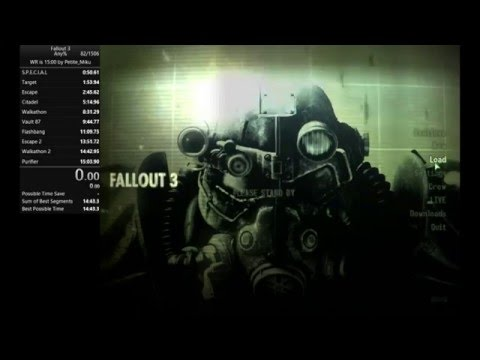 Fallout 3 speedrunner beats the game in less than 15 minutes
