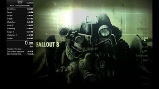 Fallout 3 Speedrun Any% 14:54 [15:09]