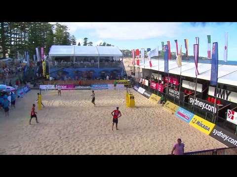 2017 FIVB World Tour, Manly Beach - Mens Bronze Medal