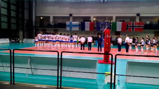 Italy vs Finland national hymns
