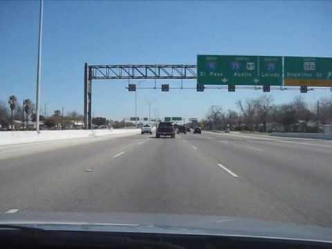 Us Highway 90 West San Antonio Eastbound Youtube - Us-interstate-90-map