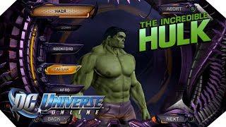 The Hulk - DC Universe Online -  MarcusGarlick