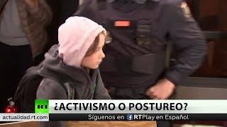La activista Greta Thunberg llega a Madrid rodeada de polémicas