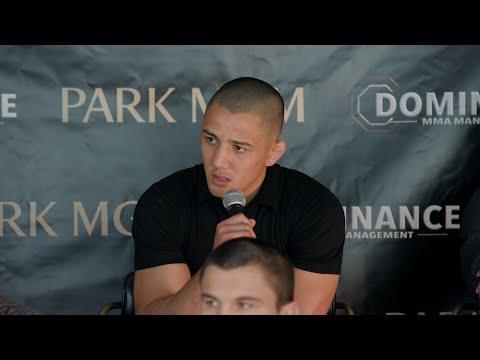 Dominance MMA Media Day II Press Conference Group 1 Live Str