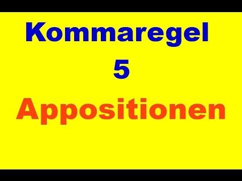 100 Sekunden Zeichensetzung - Komma 5 - Appositionen