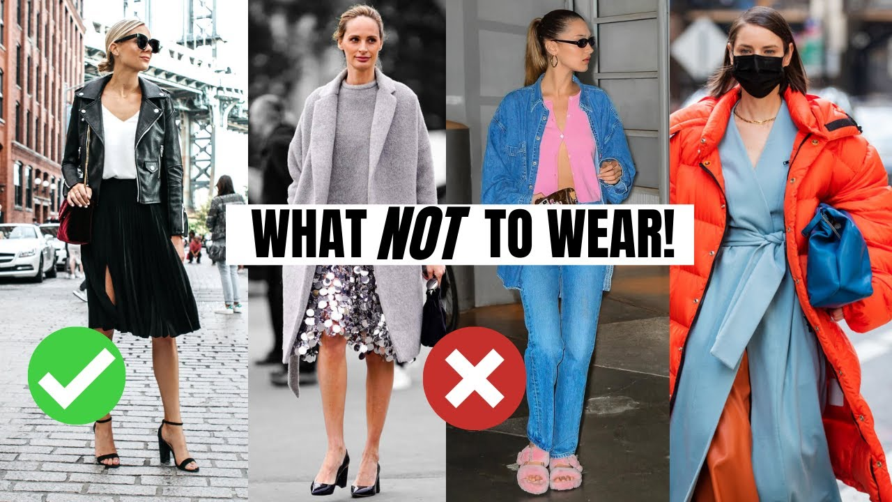 10 Fall Fashion Trends To Avoid   What Not To Wear