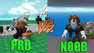 Roblox → Noob Vs Pro ‹ Natural Disaster Survival ›