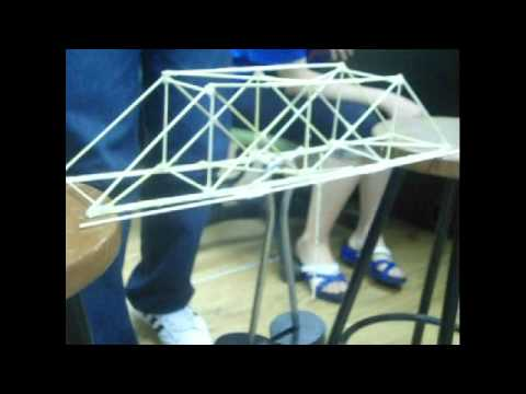 how to build an arch bridge for a school project