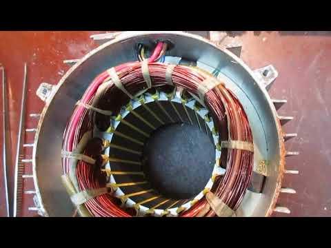 Китайский асинхронник для компрессора, сдох пусковой конденсатор.
