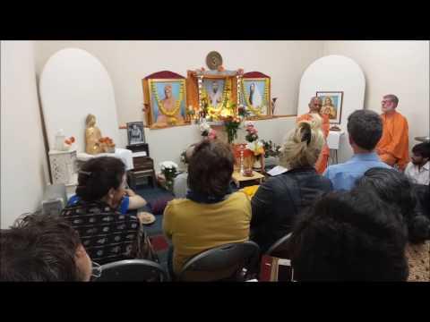 A video with Swamiji Chetanananda