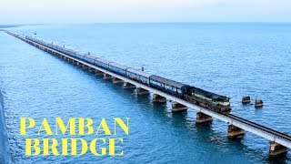 India's most dangerous train journey PAMBAN BRIDGE