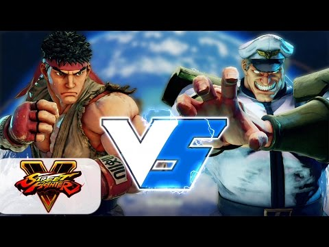 MCZ Daigo Umehara (Ryu) Vs Wako m1 (M. Bison) Street Fighter V / 5 Gameplay