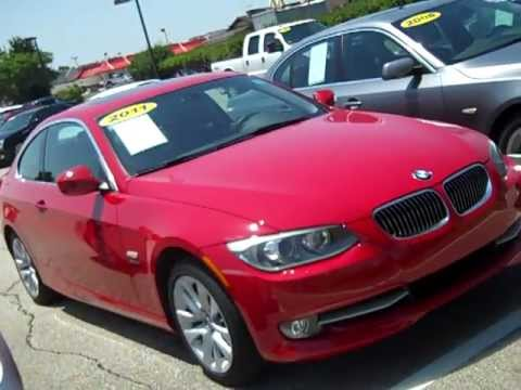 LUXURYwoody BMW I XDrive Coupe Crimson RedBlack BMW - Bmw 328i red