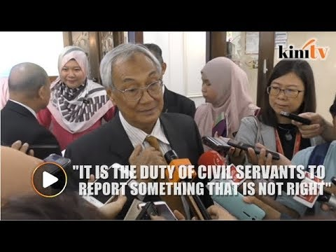 Government needs to have a whistleblowing policy, says ex-CJ