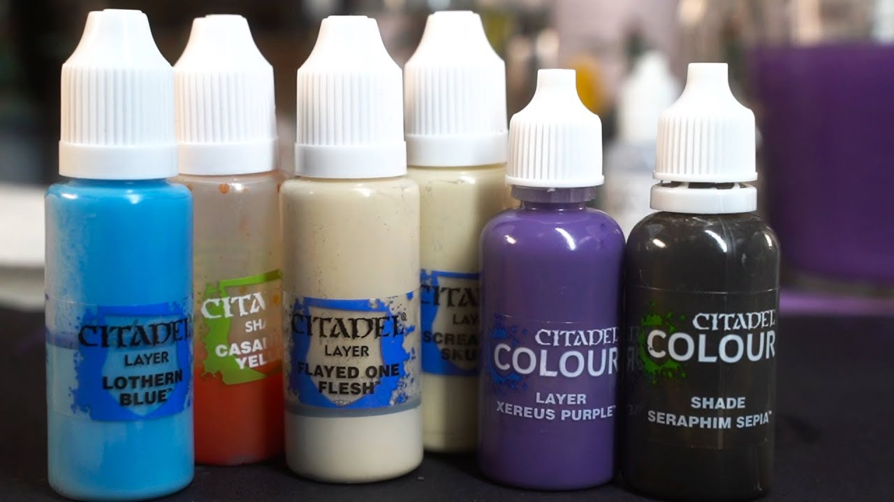 Transfer Citadel paints into DROPPER BOTTLES (and other useful hobby tips and tricks)