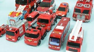 Fireengine red color Carbot TobotR Transformers Transformation Car Toys 헬로카봇 또봇 트랜스포머 소방차 자동차 장난감 변신