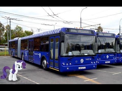 Поездка на автобусе ЛиАЗ-6213.22 № 14314 Маршрут № 810 Москва