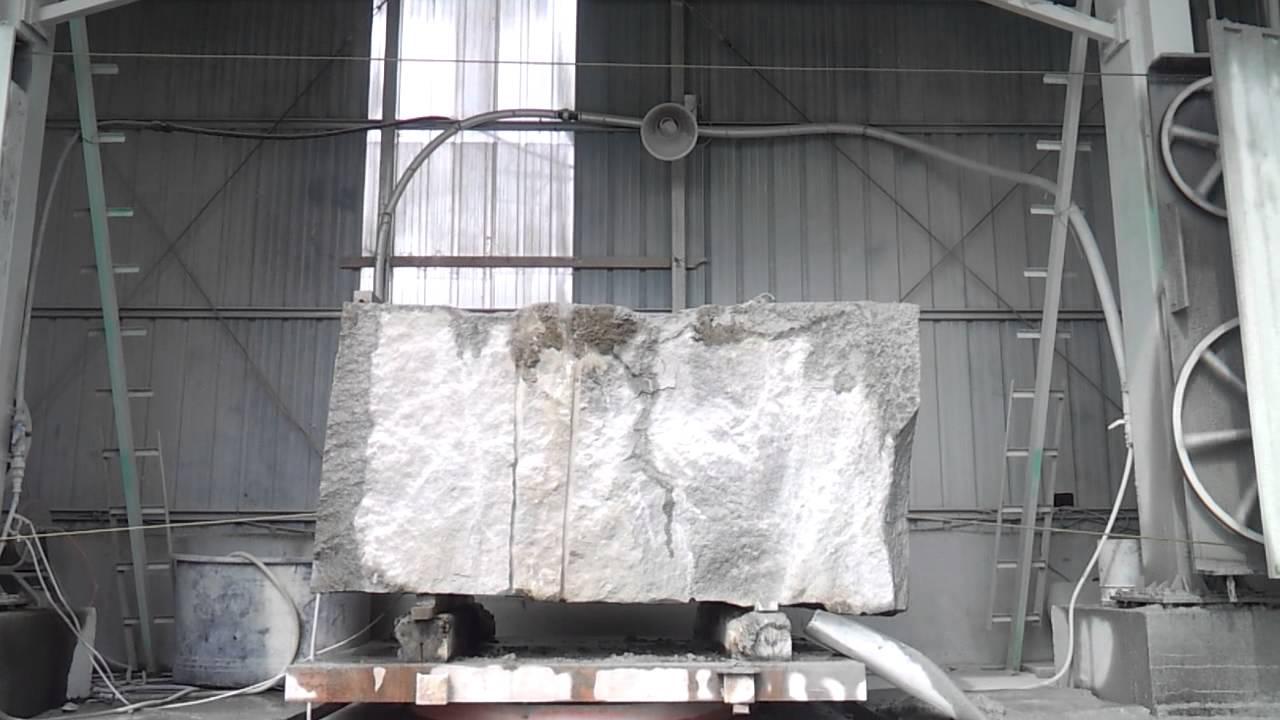 Diamond wire saw for granite....Tudee Daimond - YouTube