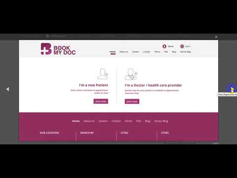 Free Download Online Doctor Appointment Bo Ng System Book My Doctor