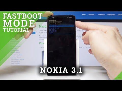 FASTBOOT MODE NOKIA 3.1 - How To Enter & Quit Nokia Fastboot