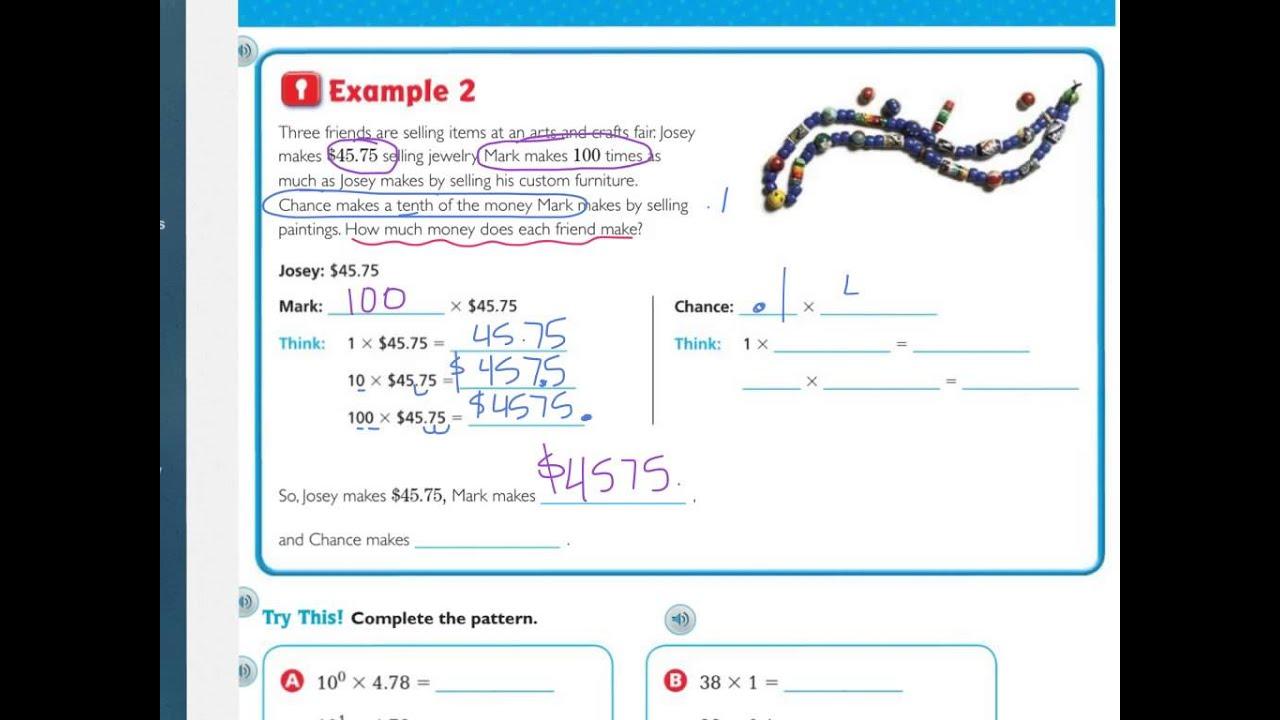 Go Math Grade 5 Lesson 3 12 Homework Answers