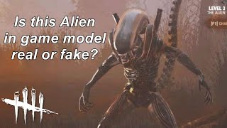 Dead By Daylight| Alien Xenomorph in game model images! Real or fake?