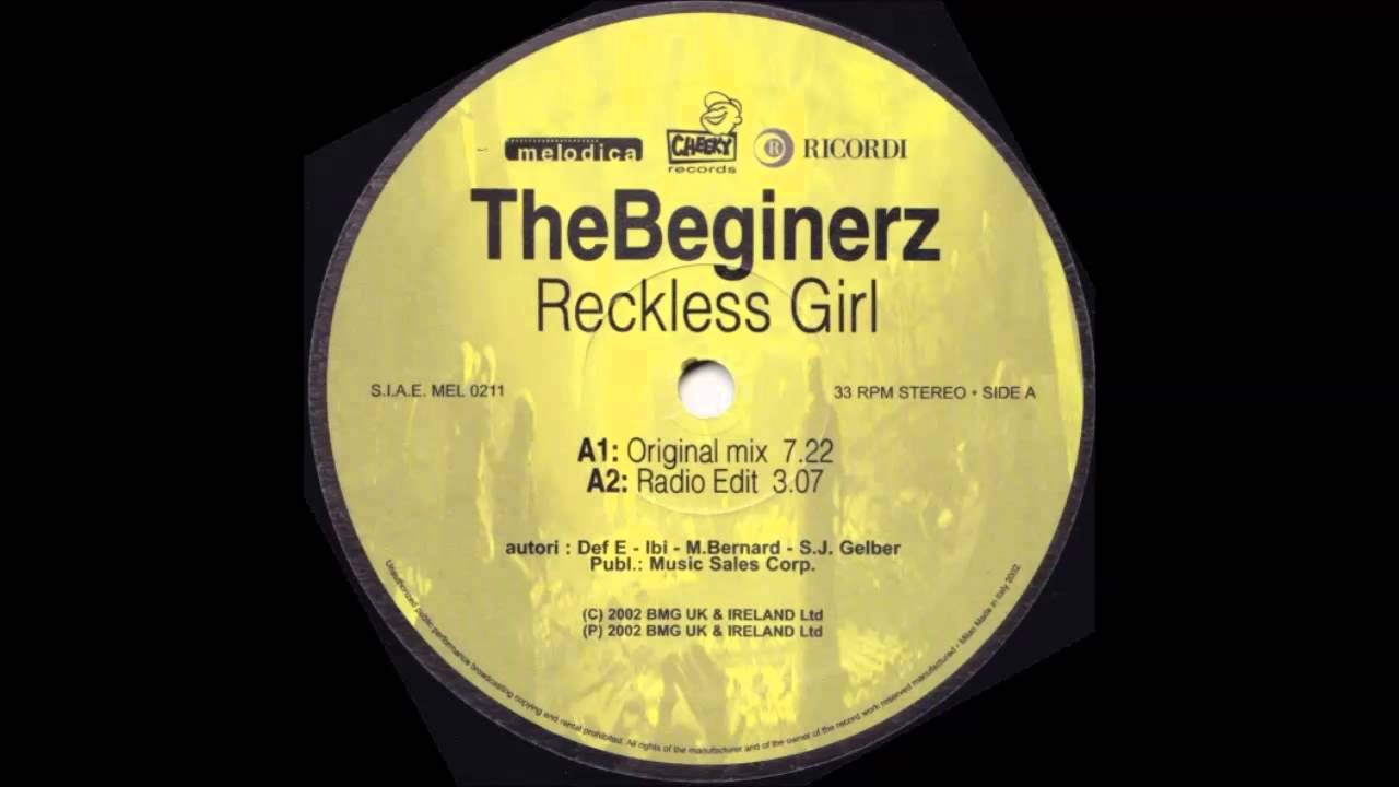 Beginerz, The - Reckless Girl 2007