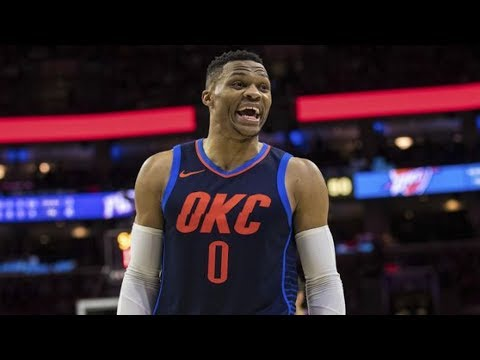 Russell Westbrook vs James Harden NBA Christmas Rockets vs Thunder 2017-18 Season