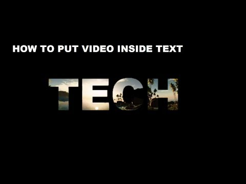 How to Place a Video Behind a Text | Using CyberLink PowerDirector