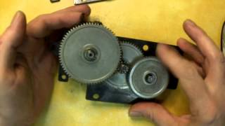 Part 3 Of 9- Delta 22-540 Planer Disassembly, Assembly And Adjustments