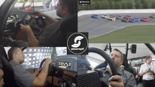 Tony Stewart in a SimCraft APEX3 GTC at Pocono for the Mobil 1 Virtual Showdown