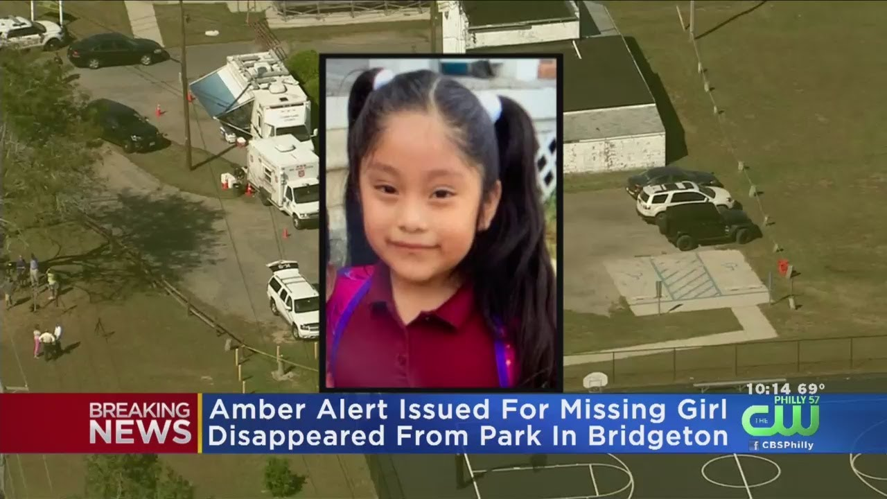 Amber Alert issued for 5-year-old girl in New Jersey who may have been abducted from playground