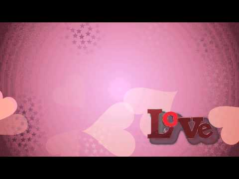 Love 3D Video Background
