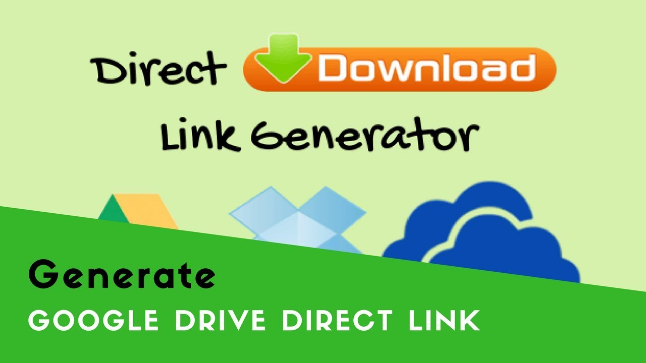 how to get link google drive