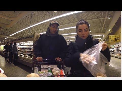 Vancouver'da Market Alisverisi | Safeway'e Gittik