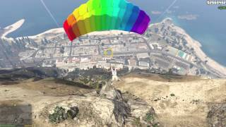 GTA V (PC) 100% 70 - Parachute Jumps