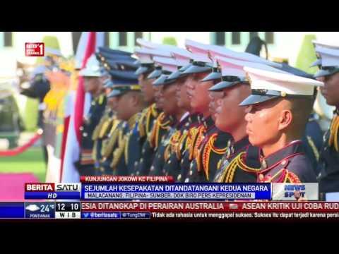 Indonesia-Filipina Teken Sejumlah Kerjasama di Istana Malacanang