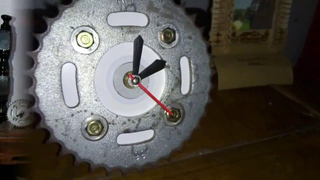 Diy Membuat Jam Unik Dari Gir Motor Bekas Youtube