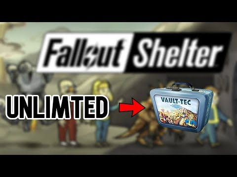 HOW TO GET UNLIMITED LUNCHBOXES ON FALLOUT SHELTER 2019!!!! (For Steam And Android)
