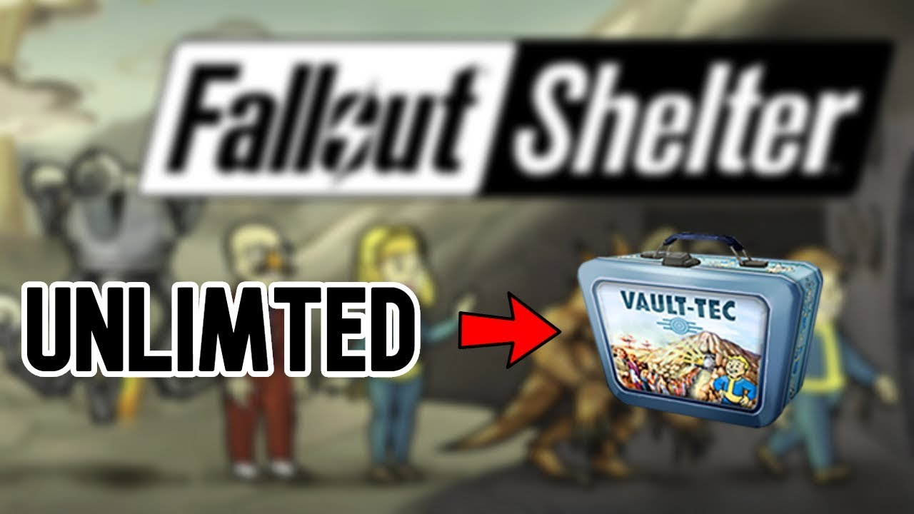 Fallout Shelter Cheats 2019 | Generate Unlimited Lunch Boxes