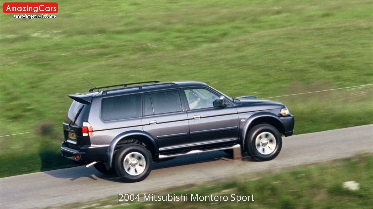 Captivating 2004 Mitsubishi Montero Sport   YouTube